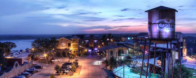 Oasis, Texas - High above Lake Travis (Austin)