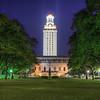 UT Tower At Night