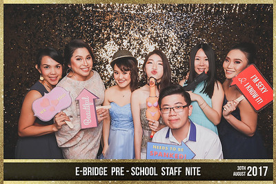 E-Bridge Pre-School Staff Night 2017 | © SRSLYPhotobooth.sg