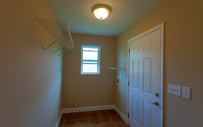 Laundry/mudroom connected to 2 car garage