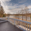 View of lake from master bedroom deck