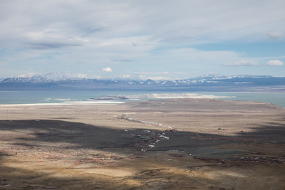 Mono Lake from above.
