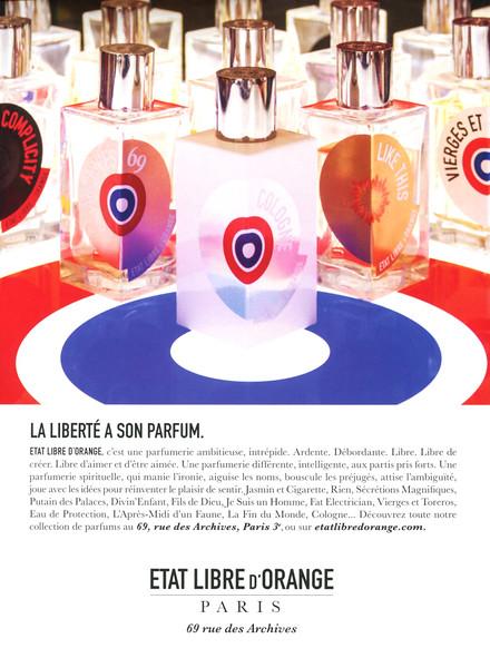 ÉTAT LIIBRE D'ORANGE Diverse 2015 France 'La liberté a son parfum'