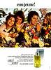 Eau Jeune Eau de Toilette 1973 France 'L'Eau de Toilette vivante'