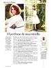 PAULA ECHEVARRÍA Paula L'Eau 2016 Spain half page (advertorial Glamour) 'El perfume de una estrella'