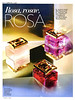 Especially ESCADA Diverse (Especially - Especially Delicate Notes - Especially Elixir) <br /> 2013 Spain (advertorial Grazia) 'Rosa, rosae, rosa'
