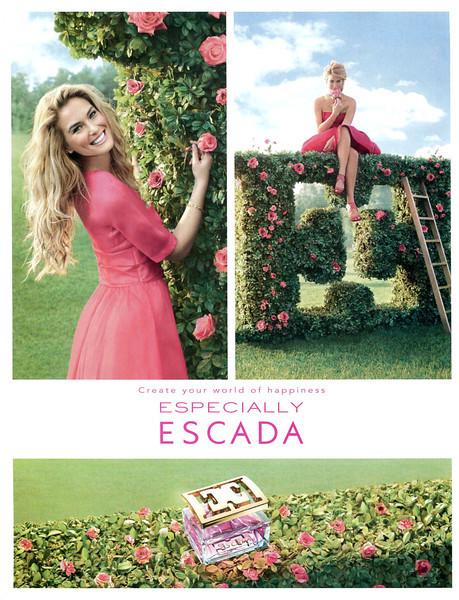 "ESCADA Especially 2012 UK ""Create your world of happiness""<br /> MODEL: Bar Refaeli, PHOTO: Mark Seliger"