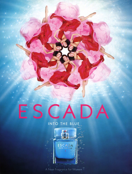 ESCADA Into the Blue 2006 Spain 'A new fragrance for women'