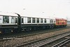 73128 Headcorn & staff coach The Pride of the Nation 12-12-98 (HRT Xmas lunch special)