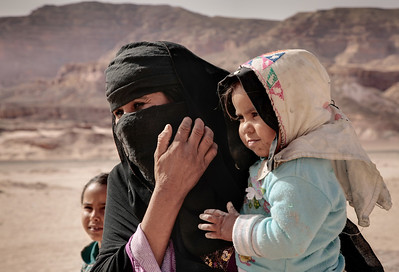 Bedouin Woman and Child - Sinai