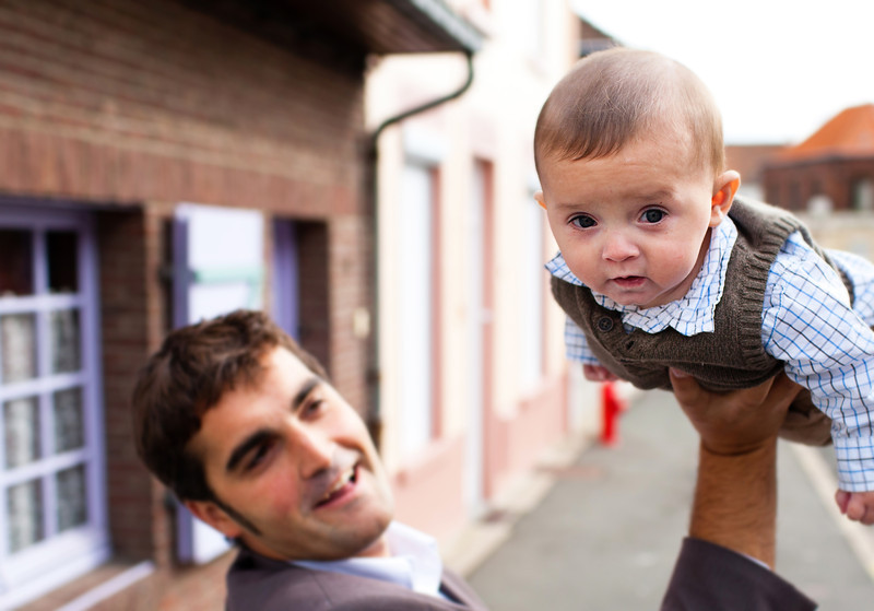Father and Son - Lille, France