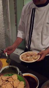 Taj Vivanta Hotel - Chef making Pani-Puri