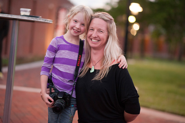 EA and Amelia - Joseloff Gallery @ University of Hartford - August 2015<br /> Thanks to Defining Photo and Video for the image