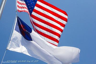EAGLE PROJECT FLAG POLE DEDICATION