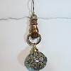 8-HAND-RS CO49 BRONZE HAND WITH RHINESTONE BALL