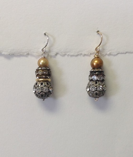 LEFT:  8-2RS-GLP CO48  PEARL AND RHINESTONES   RIGHT: 8-B-3RS-2 CO49