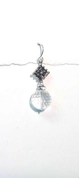 83386-CRY CO49 STERLING AND CRYSTAL