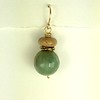 8-AQBA-W CO30 BLUE GREEN AGATE AND YELLOW AGATE