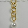 8-VC-WP CO36  VINTAGE CHAIN WITH WHITE PEARL