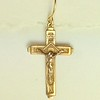 8-RM234-W CO27  CROSS EARRING