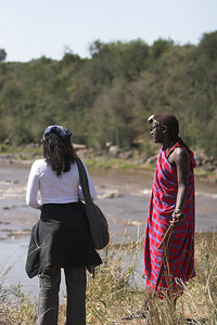 Masai Mara NR Masai Moran Guide