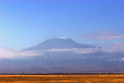 Amboseli NP Mt. Kilimanjaro in Early Morning