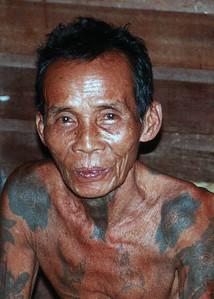 DYAK MAN - SARAWAK, MALAYSIA