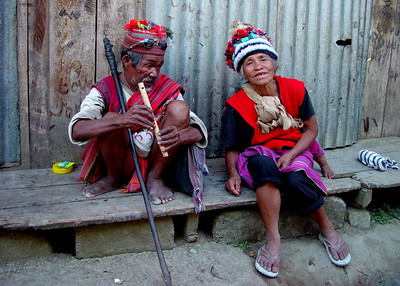 IFUGAO COUPLE - NORTHERN LUZON