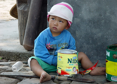 IFUGAO CHILD - NORTHERN LUZON
