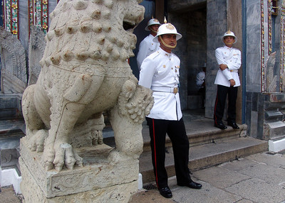 PALACE GUARD - BANGKOK