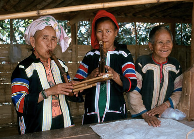 HILLTRIBE MUSICIANS - GOLDEN TRIANGLE