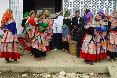 FLOWER HMONG MARKET - BAC HA