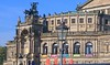 Dresden Opera House, burned out to a shell in WWII. Its accurate reconstruction was finished exactly 40 years later.