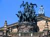 Sculpture on the Dresden Opera House.