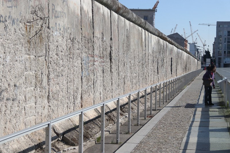 Original section of the Berlin Wall.