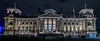 The Reichstag building, Berlin. Severe WWII damage left it unrestored until the 1990's.