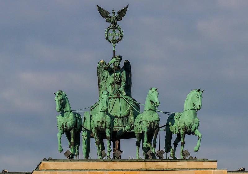 Brandenburg Gate Sculpture.
