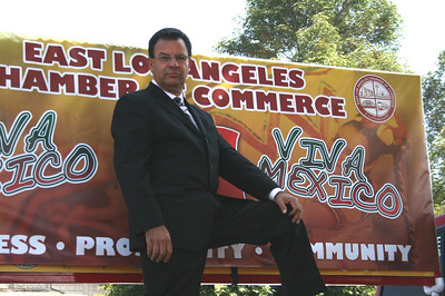 East L.A. Chamber president Joe Sandoval aka The Commissioner