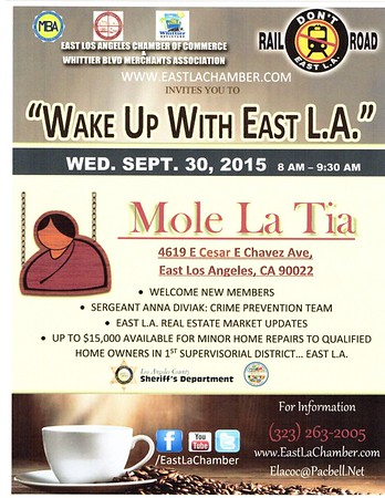 WAKE UP WITH EAST L.A. • 09.30.15