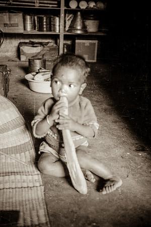 Bahnar child