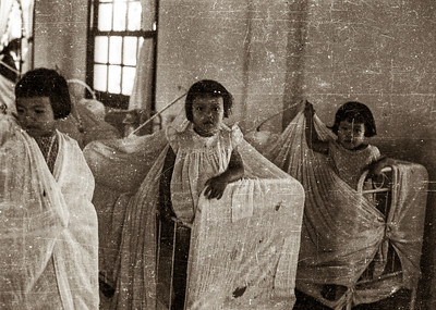 Girls in orphanage
