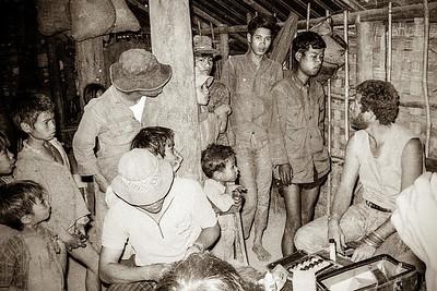 Clinic in village