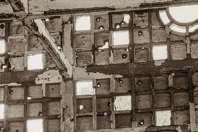 1968 damage to Kontum central market