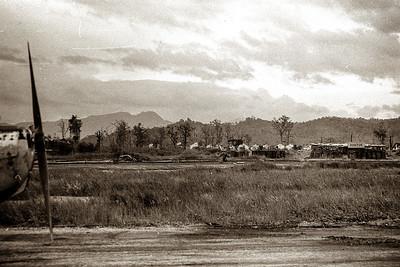 Kontum airport runway