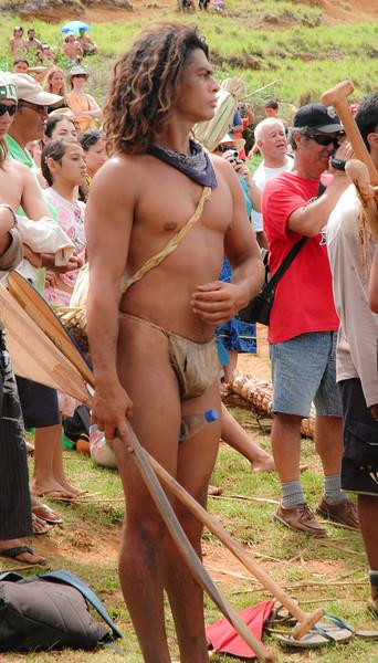 Rapa Nui Triathlon Competitor