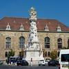 Holy Trinity Statue, next to St. Mathias Church.