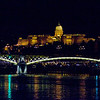 Buda Castle with Margaret Bridge in the foreground.  The bridge was opened in 1876.
