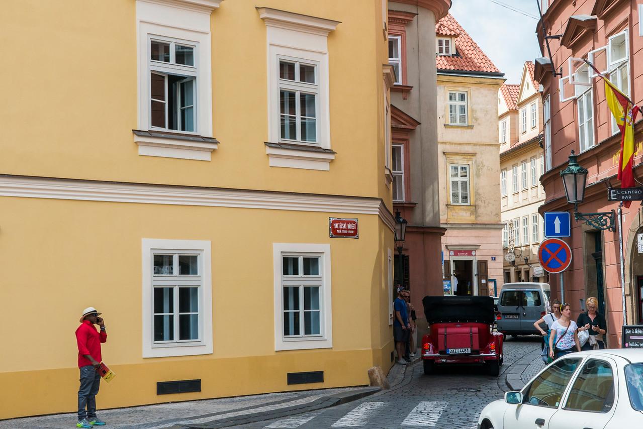Prague town.