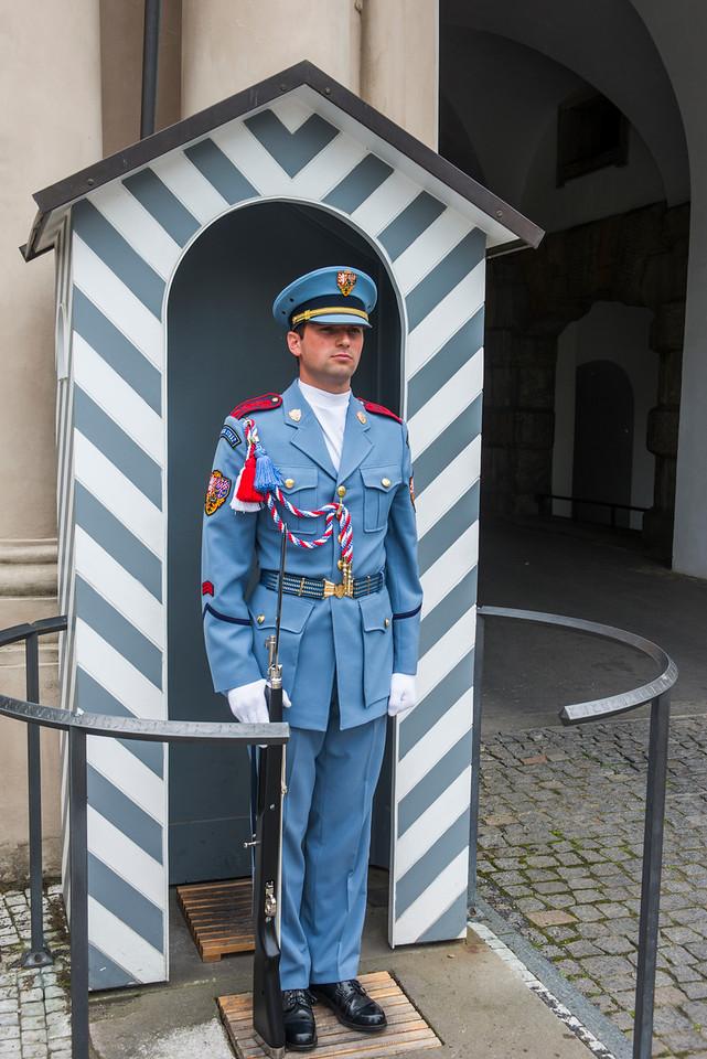 Newly designed uniforms of the Czech Castle Guards. (Theodor Pistek design)