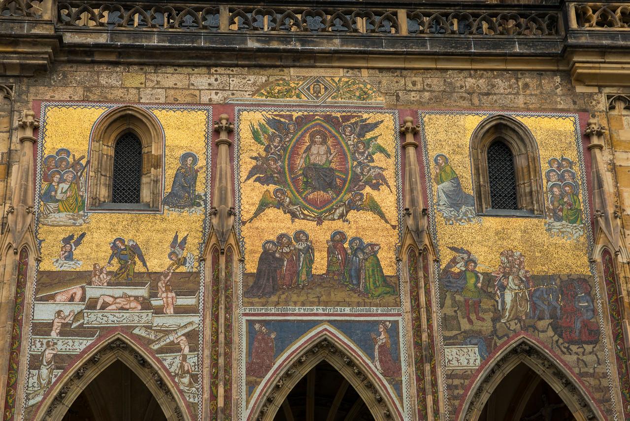 St. Vitus Cathedral detail.